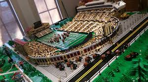 Folsom Field Map A Lego Version Of Folsom Field In The Cu Boulder Heritage Center U0027s
