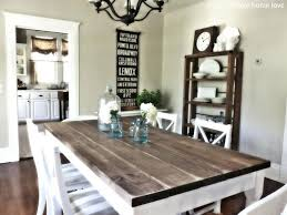 engaging white and wood table decorating wood table and chairs