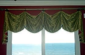 custom window treatments custom valances