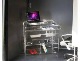 meubles bureaux meubles transparents de bureau design et fonctionnel plexi et