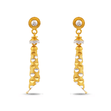 beautiful gold earrings gold drops beautiful bell gold earrings