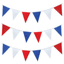International Bunting Flags Bunting Red White U0026 Blue Flags 25 Flags Approx 7 Metres Flags
