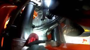 2002 ktm 640 adventure oil change proceedure youtube