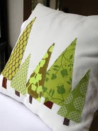 pillow cover forest in moss green and olive 14 inch featured in