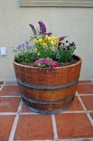 they have the cutest jack daniels whiskey barrel planters at lowes