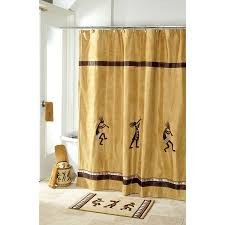 Country Chic Shower Curtains Bathroom Appealing Burlap Shower Curtain For Your Bathroom Decor