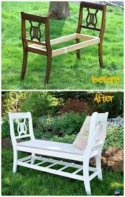 Wooden Garden Bench Plans by Diy Outdoor Garden Bench Ideas Free Plans Instructions