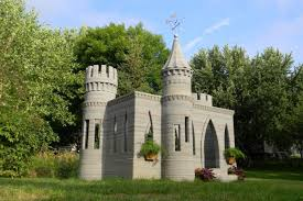 Backyard Tiny House Man 3 D Prints Backyard Castle Plans Two Story House Next Nbc News
