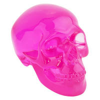 skull ornament small black at mighty ape nz
