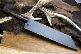 Best Japanese Kitchen Knives In The World Amazon Com Yoshihiro Aoko Blue Steel Suminagashi Damascus Wa
