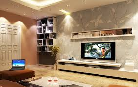 Latest Wallpaper For Living Room by Wall Cupboard Designs
