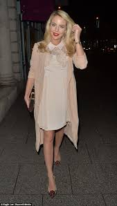 towie u0027s lydia bright enjoys a christmas party with pals daily