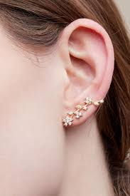 climber earrings wisteria climber earrings anthropologie