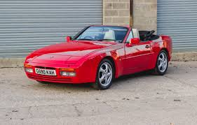 convertible porsche red porsche 944 s2 cabriolet bure valley classics