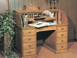 Roll Top Desk Dimensions Office Desk Roll Top Office Desk Oak And Cherry Home Made Rustic