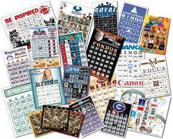 custom cards bingo cards