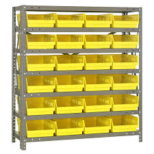 Storage Bin Shelves by Plastic Storage Bins And Crates At Organize It