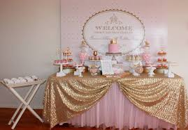 royal princess baby shower theme big company the gold and pink princess themed