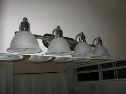 Spray Painting Brass Light Fixtures Out Out Damn Brass The Six Fix