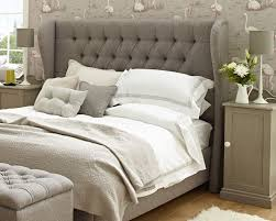 paying attention with upholstered headboard for beautiful bed