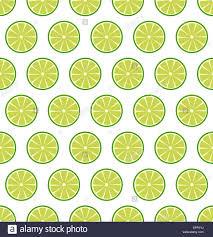 seamless lemon pattern vector seamless pattern with sliced lemons or limes vector stock