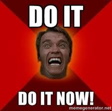 Arnold Schwarzenegger Memes - image arnold schwarzenegger do it now meme jpg epic rap battles
