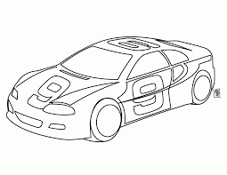 kindergarten coloring pages easy cars coloring home