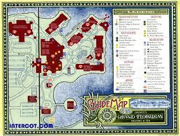 Disney World Resort Map Walt Disney World Disney World Vacation Information Guide
