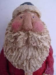 Paper Mache Christmas Crafts - 144 best christmas paper mache santas images on pinterest paper
