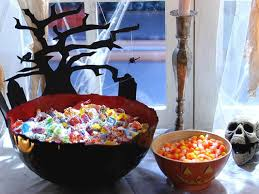 halloween candy dish paper mache candy bowl diy