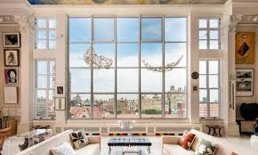 Best Living Room Pencil U0027s Lisa Belzberg Nabs Incredible Upper West Side Penthouse