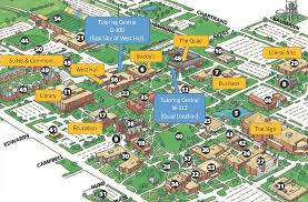 Scc Campus Map University Of Central Oklahoma Map Wisconsin Map