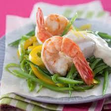 cuisiner avec du gingembre recette papillote de poisson et gambas sauce les gourmandes au