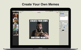 Create Your Own Meme App - mymemes create your own memes app for macs download for macos