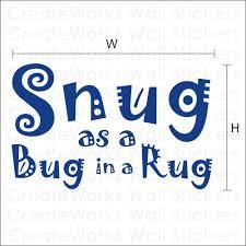 Bug Na Rug Snug In A Rug Roselawnlutheran
