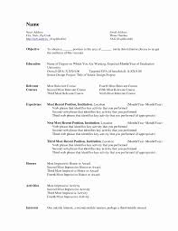 resume template word 2007 ms word resume template inspirational resume template word 2007 in