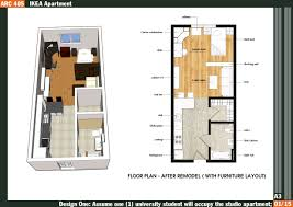 Efficiency Apartment Floor Plan by 100 Apartment Design Plans Apartment Designs Shown With