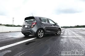 2013 chevrolet sonic rs modified magazine