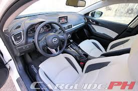 Mazda 3 Interior 2015 Review 2015 Mazda3 Speed Carguide Ph Philippine Car News Car