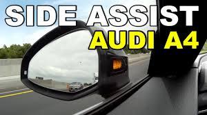 Blind Spot Alert 2017 Audi A4 Prestige Side Assist Blind Spot Warning System Youtube