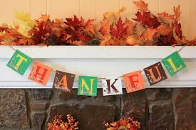 craft a colorful with an easy to make thanksgiving banner