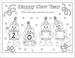 happy new year preschool coloring pages new years coloring sheets new years coloring page new years coloring