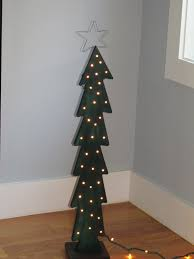 tree craft patterns lights decoration