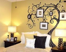Unique Painting Ideas by Beautiful White Brown Wood Glass Unique Design Painting Ideas For