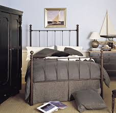 Ideas For Antique Iron Beds Design Bedroom Simple Bedroom Decoration With Brown Rod Iron Bed Along