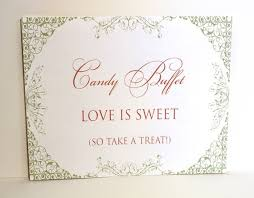 Wedding Buffet Signs by 37 Best Red And Gold Indian Candy Buffet Images On Pinterest