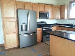 slate appliances with gray cabinets slate appliances grey cabinets refrirator color cu ft top freezer