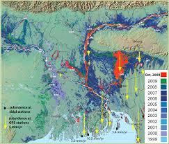 Map Of Indus River Ganges Brahmaputra Meghna Gbm Delta Delta Umn Edu