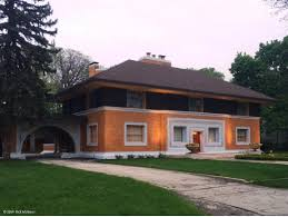 frank lloyd wright prairie architecture in river forest