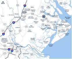 map of beaufort county sc locations